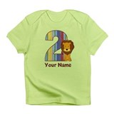 2nd Birthday Lion Infant T-Shirt