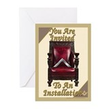 Installation Invitations Greeting Cards (Pk of 20)