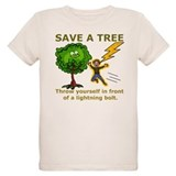 Funny Save a Tree T-Shirt