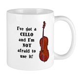 I've Got a Cello Small Mug