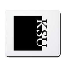 KSU Typography Mousepad