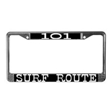 Cute Hawaii surfing License Plate Frame