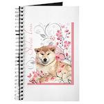 Cherry Blossom Shiba Inu Journal