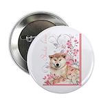 Cherry Blossom Shiba Inu 2.25