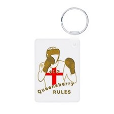 England Queensberry Boxing Designer Keychains