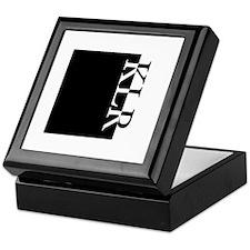KLR Typography Keepsake Box