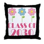 2030 School Class Cute Throw Pillow