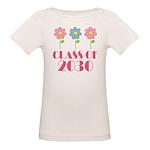 2030 School Class Cute Organic Baby T-Shirt