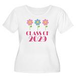 2029 School Class Cute Women's Plus Size Scoop Nec
