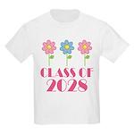 2028 School Class Cute Kids Light T-Shirt
