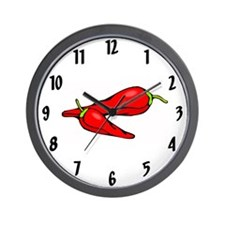 Funny Pepper Wall Clock