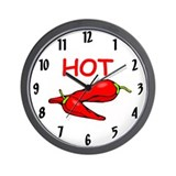 Cute Habaneros Wall Clock