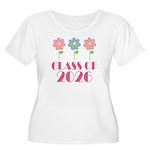 2026 School Class Women's Plus Size Scoop Neck T-S