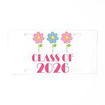 2026 School Class Aluminum License Plate