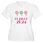 2024 School Class Pride Women's Plus Size V-Neck T