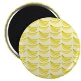 "Banana Pattern 2.25"" Magnet (100 pack)"
