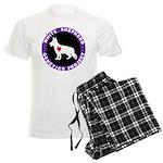 White Shepherd Genetics Proje Men's Light Pajamas
