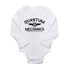 QUANTUM MECHANICS Long Sleeve Infant Bodysuit