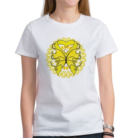 Butterfly Ewing Sarcoma Women's T-Shirt