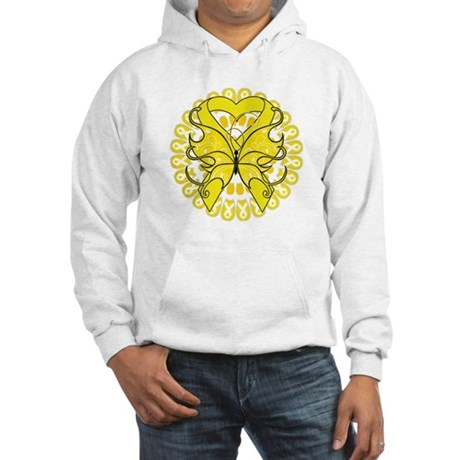 Butterfly Ewing Sarcoma Hooded Sweatshirt