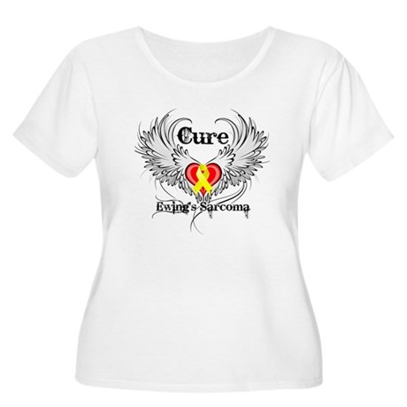 Cure Ewing Sarcoma Women's Plus Size Scoop Neck T-