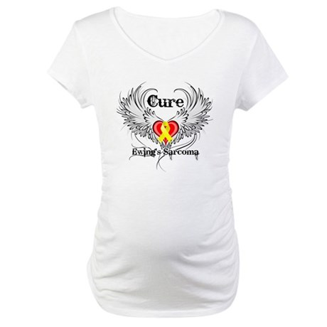 Cure Ewing Sarcoma Maternity T-Shirt