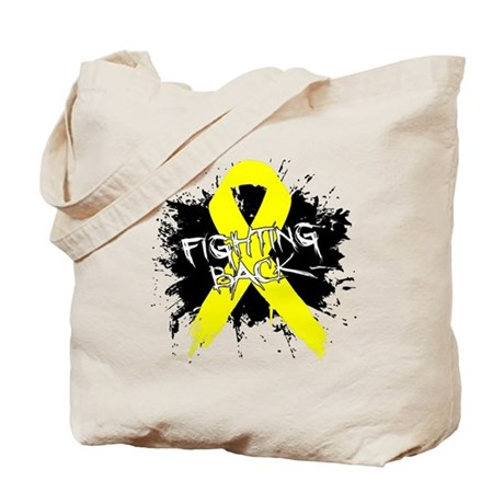 Fighting Back Ewing Sarcoma Tote Bag