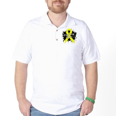 Fighting Back Ewing Sarcoma Golf Shirt