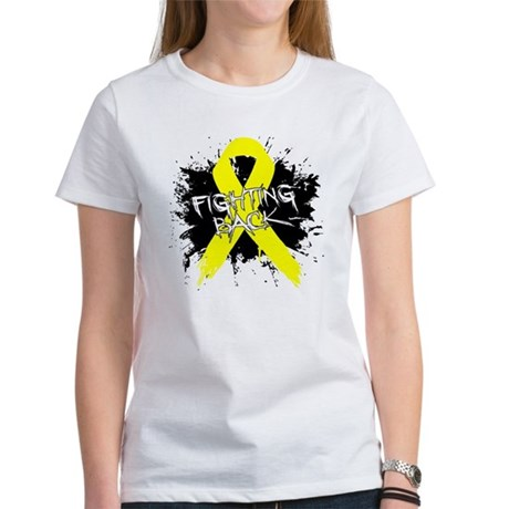 Fighting Back Ewing Sarcoma Women's T-Shirt