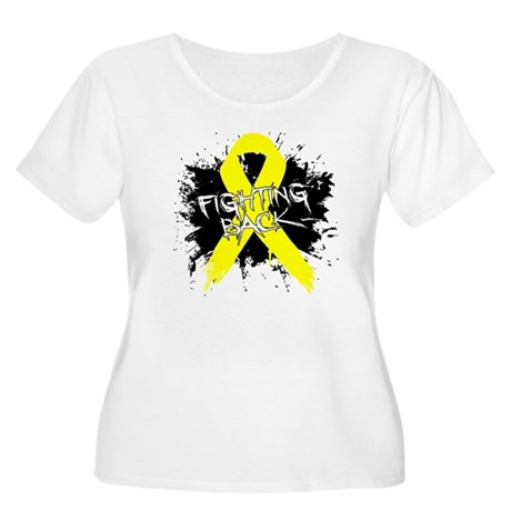 Fighting Back Ewing Sarcoma Women's Plus Size Scoo
