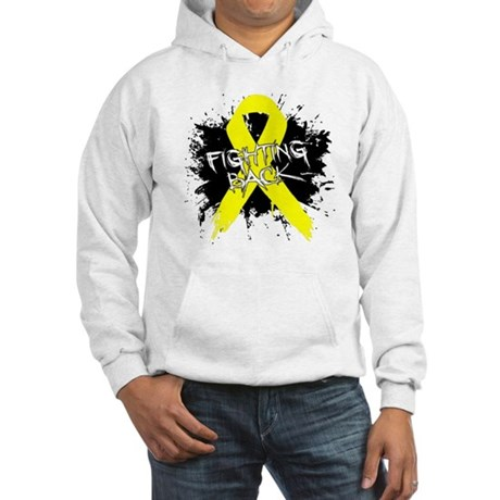Fighting Back Ewing Sarcoma Hooded Sweatshirt