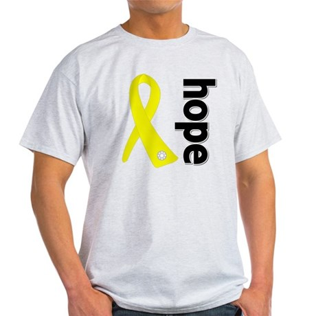 Hope Ribbon Ewing Sarcoma Light T-Shirt