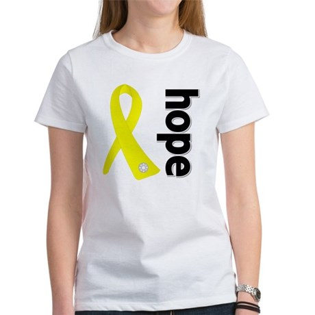 Hope Ribbon Ewing Sarcoma Women's T-Shirt
