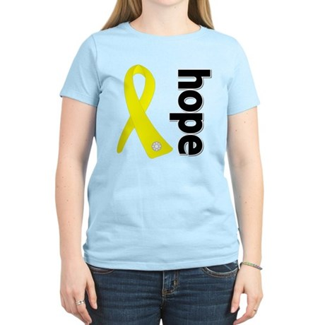 Hope Ribbon Ewing Sarcoma Women's Light T-Shirt