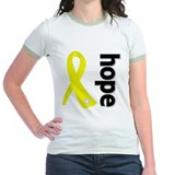 Hope Ribbon Ewing Sarcoma T