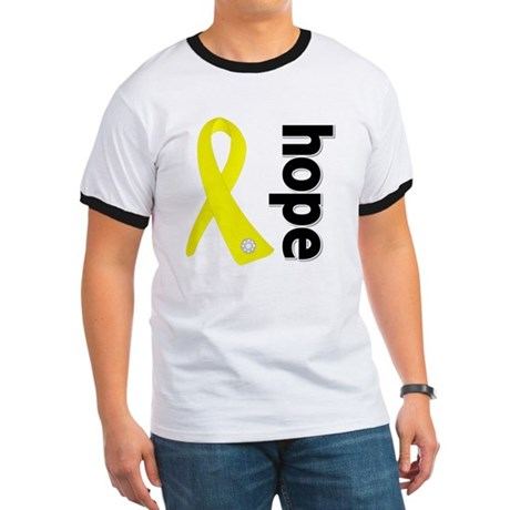 Hope Ribbon Ewing Sarcoma Ringer T