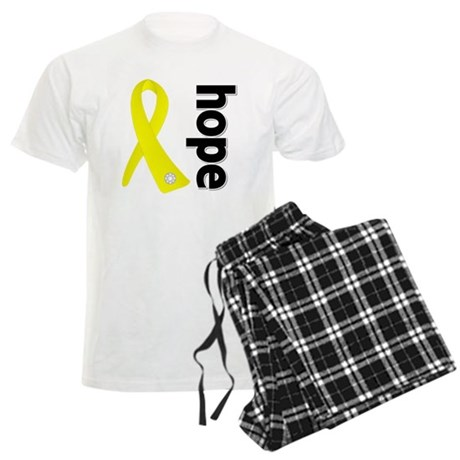 Hope Ribbon Ewing Sarcoma Men's Light Pajamas