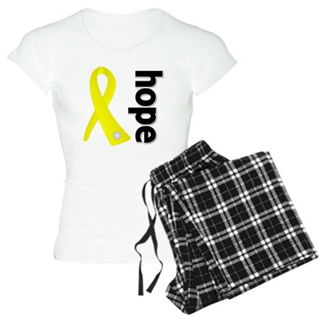 Hope Ribbon Ewing Sarcoma Women's Light Pajamas