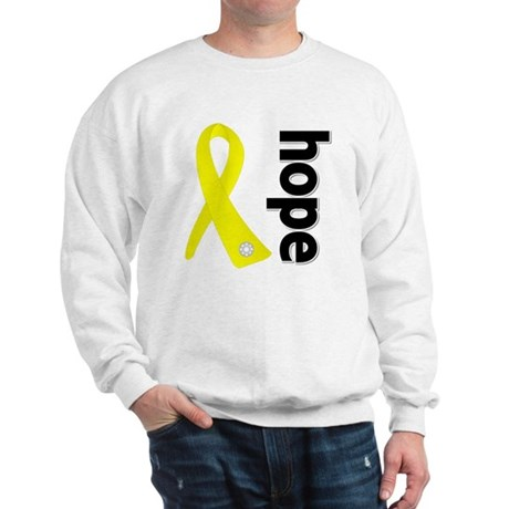 Hope Ribbon Ewing Sarcoma Sweatshirt