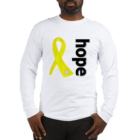 Hope Ribbon Ewing Sarcoma Long Sleeve T-Shirt