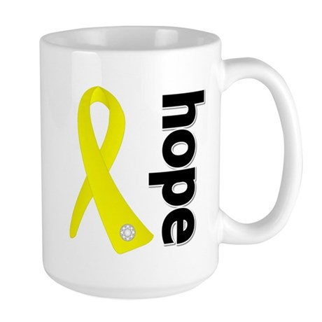 Hope Ribbon Ewing Sarcoma Large Mug