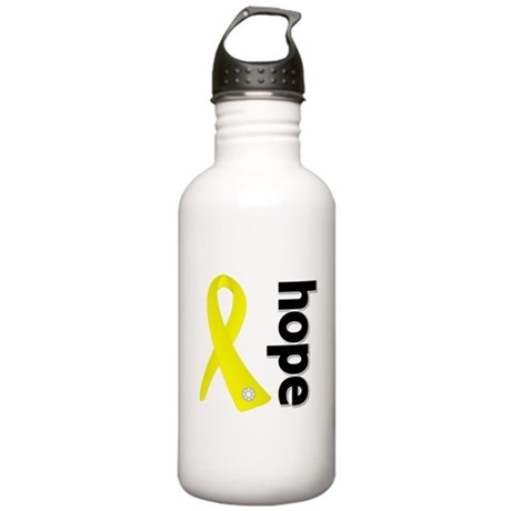 Hope Ribbon Ewing Sarcoma Stainless Water Bottle 1