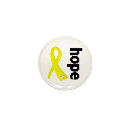Hope Ribbon Ewing Sarcoma Mini Button
