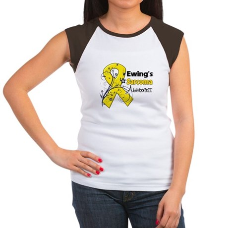 Ewing Sarcoma Awareness Women's Cap Sleeve T-Shirt