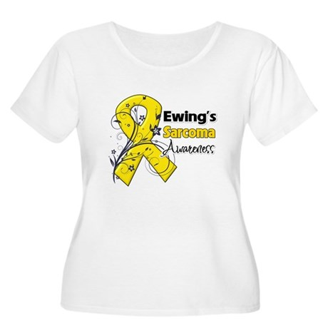 Ewing Sarcoma Awareness Women's Plus Size Scoop Ne