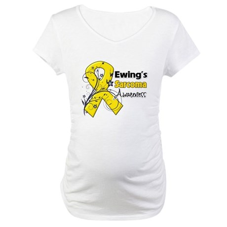 Ewing Sarcoma Awareness Maternity T-Shirt