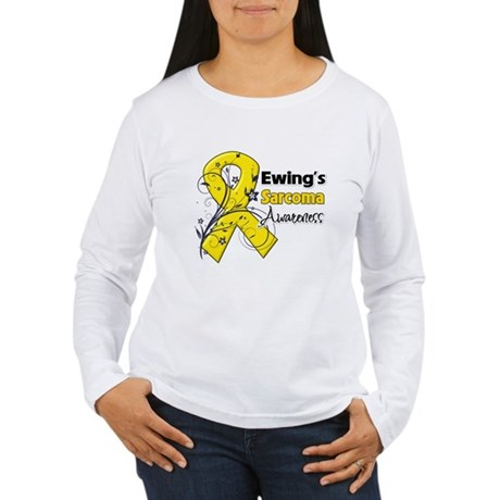 Ewing Sarcoma Awareness Women's Long Sleeve T-Shir