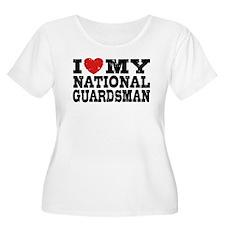 I Love My National Guardsman T-Shirt