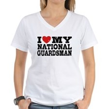 I Love My National Guardsman Shirt