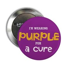 "purple cure (2.25"" Button)"